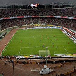 عکس هوایی استادیوم آزادی