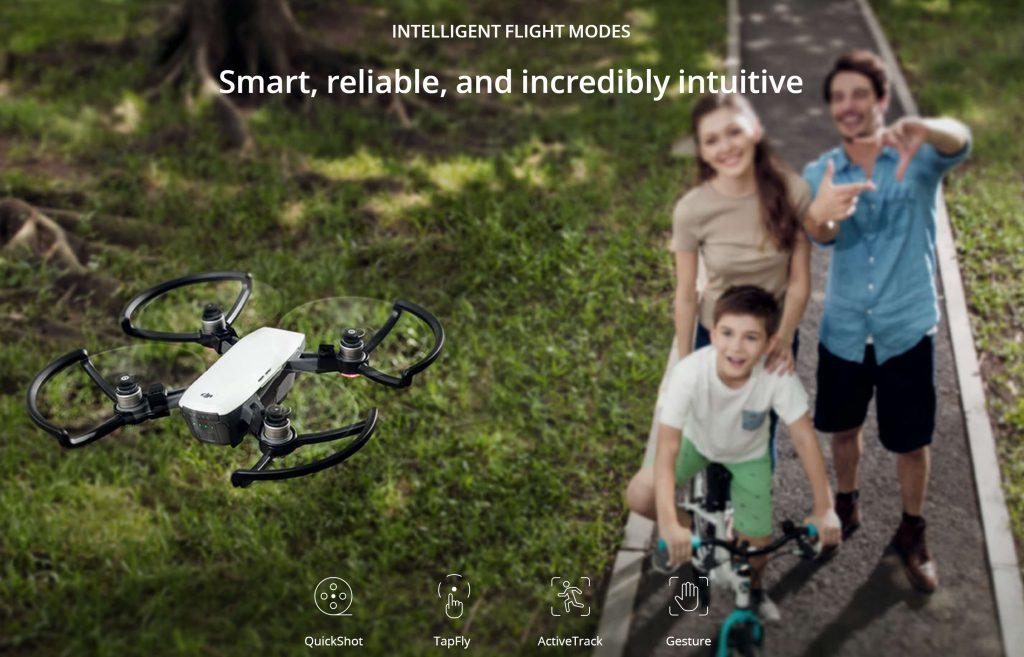آموزش حالات پروازی هوشمند اسپارک