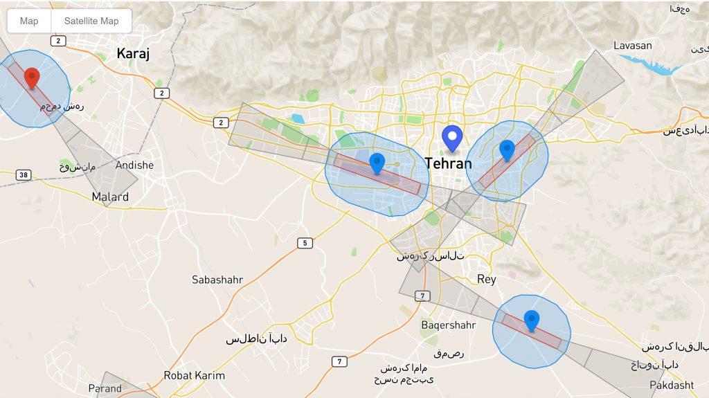 راهنمای تشخیص مناطق ممنوعه در کوادکوپتر Dji
