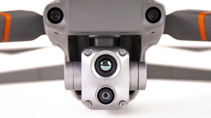 دوربین حرارتی و زوم مویک 2 اینترپرایز اونسد mavic 2 enterprise advanced